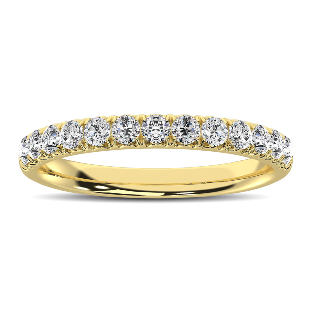 10K Yellow Gold 1/2 Ctw Annivesary Band