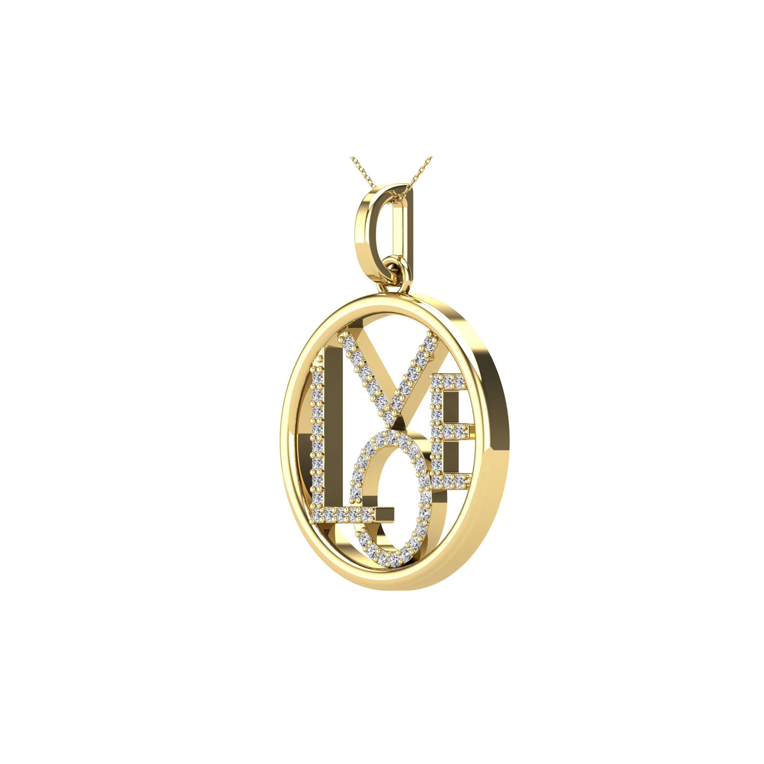ray pendant gold 10 pieces