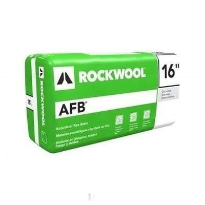 Rockwool AFB (Acoustic Fire Batt) 16 in x 48 in (All Sizes) Rockwool