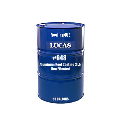 Aluminum Roof Coating 3 Lb. #648 - Non-Fibrated - Full Range Roof Coatings