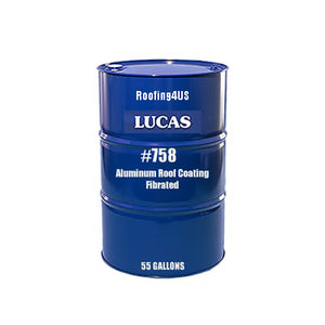 Aluminum Roof Coating 2 Lb. #758 - Fibrated - Full Range Roof Coatings