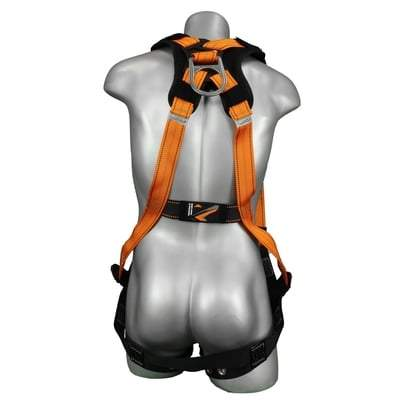 Warthog Tongue and Buckle Full Body Harness (with X-Pad) - All Sizes Bodywear