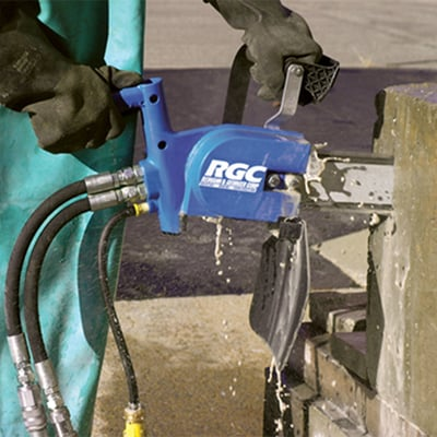 Image of C50 Hydracutter Bar Blue 8GPM