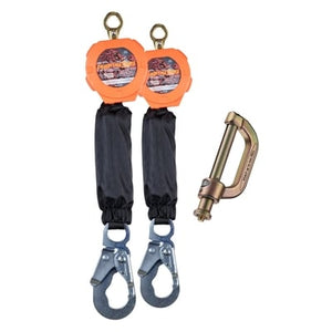 Dual Pygmy Hog SRLs Steel Snap Hook with Connector Kit - All Sizes