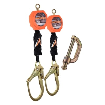 Dual Pygmy Hog SRL Rebar Hook with Connector Kit - All Sizes