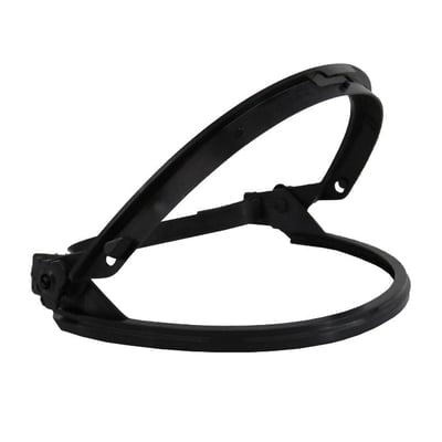 Bracket, Nylon, Band Mounted, for use on Brim Style Hard Hats