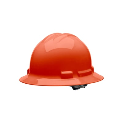 Hard Hat Full Brim 4pt. Ratchet Adjustment - All Colors