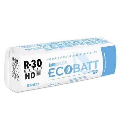 Knauf Ecobatt R-30 HD Kraft Faced Fiberglass Insulation Batts - All Sizes Batts