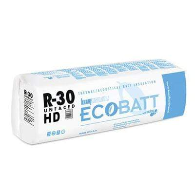 Knauf Ecobatt R-30 HD Unfaced Fiberglass Insulation Batts - All Sizes Batts