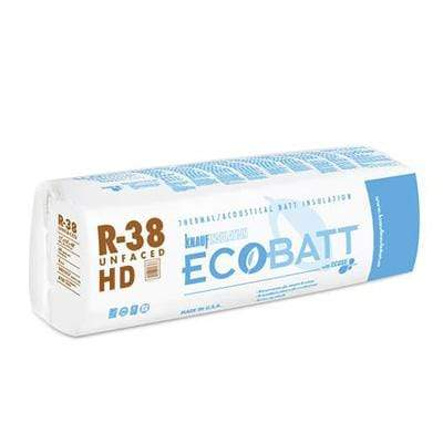 Image of Knauf Ecobatt R-38 HD Unfaced Fiberglass Insulation Batts - All Sizes Batts