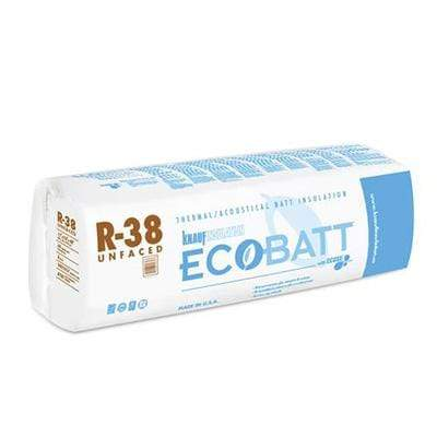 Knauf Ecobatt R-38 Unfaced Fiberglass Insulation Batts - All Sizes Batts