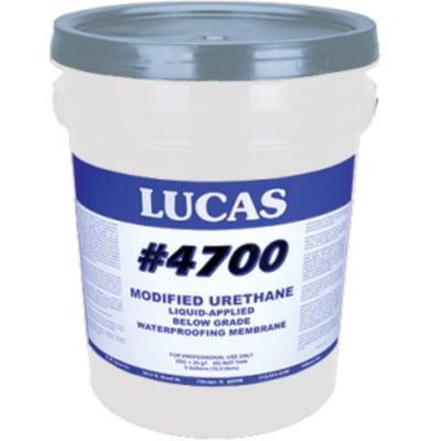 Modified Urethane Fluid Applied Waterproofing #4700 - Lucas