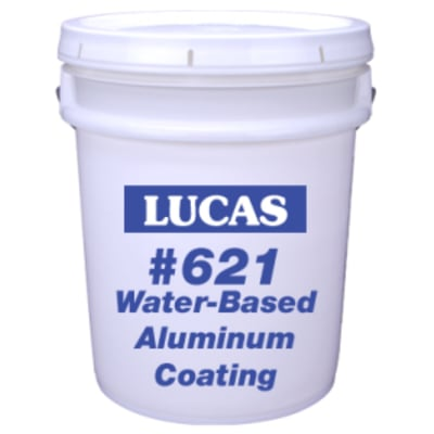 Water-Based Aluminum Coating #621 - Full Range Roof Coatings