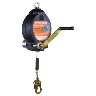 100 ft 3-Way Recovery Self-Retracting Lifeline