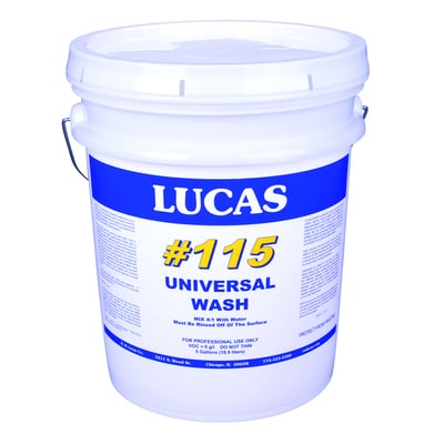 Image of Detergent Roof Wash #115 - Lucas
