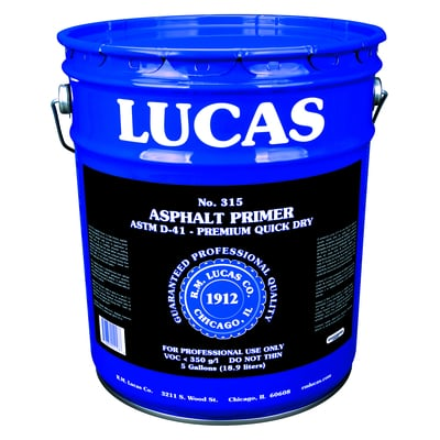 Kwik-Dry Asphalt Primer #315 - Premium - Full Range Sealants & Primers