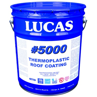 Thermoplastic Roof Coating Roof Coatings #5000