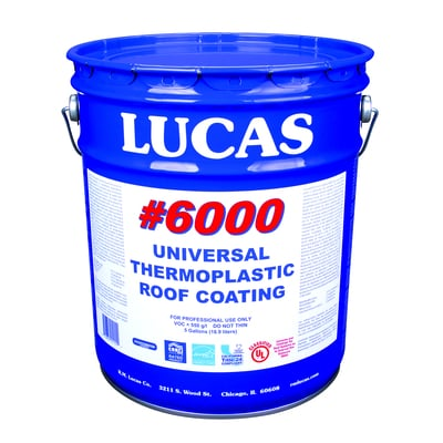 Universal Thermoplastic Roof Coating #6000 Roof Coatings