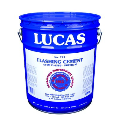 Flashing Cement #771 - Premium - Full Range - Lucas