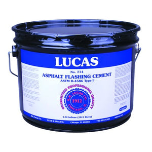 Asphalt Flashing Cement #774 - Standard - Full Range