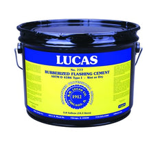 Load image into Gallery viewer, Lucas Rubberized Flashing Cement #777 - Wet/Dry Utility - Full Range
