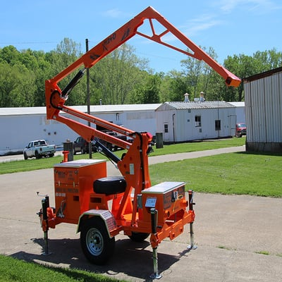 Image of Xseries 1240-2 person Mobile Grabber - Malta Dynamics