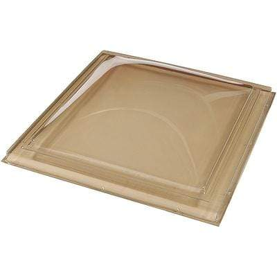 Fixed Curb Mount Fixed Polycarbonate Skylight - Bronze/Clear Skylight