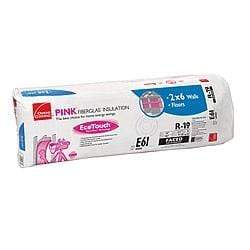 Owens Corning EcoTouch R19 Paperfaced Rolled Batts (All Sizes) Rolled Batts