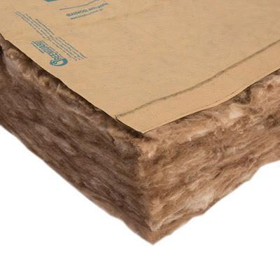 Image of Knauf Ecobatt R-13 Kraft Faced Fiberglass Insulation Batts - All Sizes Batts