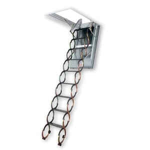 Fakro LSF Fire Rated Scissor Attic Ladder