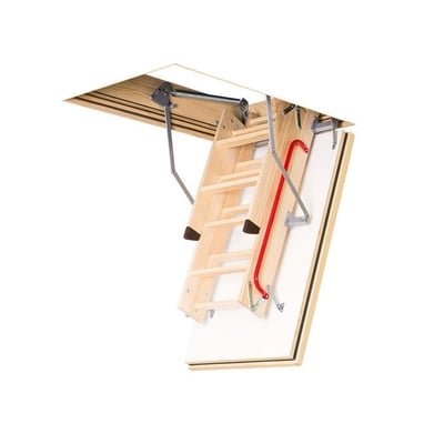 Fakro LWF Fire Rated Wood Attic Ladder