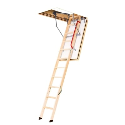 Image of Fakro LWF Fire Rated Wood Attic Ladder