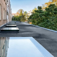 Load image into Gallery viewer, Fakro DXF DU6 Fixed Flat Roof Deck-Mounted Skylight Triple glazed
