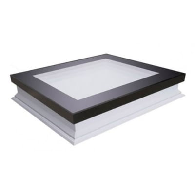 Fakro DXF DU6 Fixed Flat Roof Deck-Mounted Skylight Triple glazed