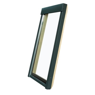 Fakro Fixed Deck-Mounted Skylight with Tempered Low-E366 Glass