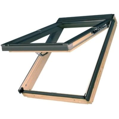 Fakro FPP-V L3 preSelect Pivot Deck-Mounted Roof Window with Laminated Low-E Glass