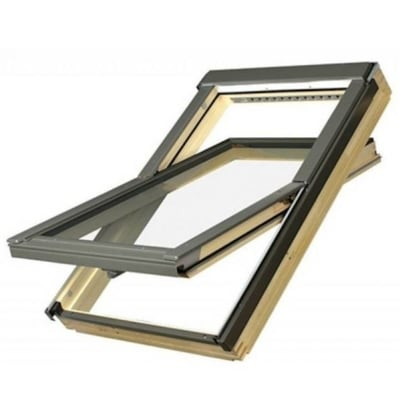Fakro FTP-V L3 Centre Pivot Deck-Mounted Roof Window with Laminated Low-E Glass