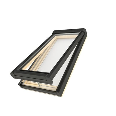 Fakro Solar Powered Venting Deck-Mounted Skylight with Laminated Low-E366 Glass