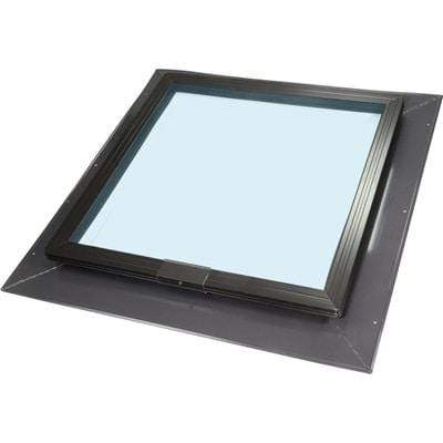Fixed Self Flashing Tempered Skylight - Clear Glass Skylight