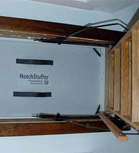 "Load image into Gallery viewer, Attic Hatch Stuffer 22.5"" x 54"" Attic Insulation"
