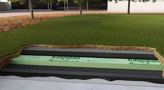 Kingspan GreenGuard Type VI 40 psi 4ft x 8ft XPS Insulation Board - All Sizes Roof