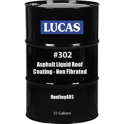 Asphalt Liquid Roof Coating NF #302 - Premium - Full Range Roof Coatings