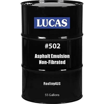 Asphalt Emulsion #502 - Non-Fibrated - Full Range