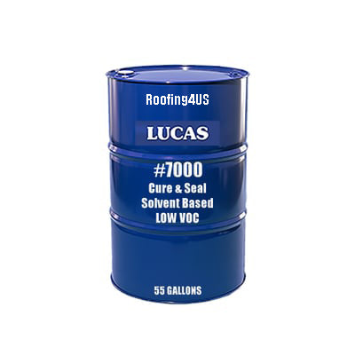 Cure & Seal #7000 - Solvent Based - 25% Solids - Lucas