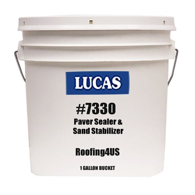Image of Paver Sealer & Sand Stabilizer #7330 Water Based - Gloss - Lucas