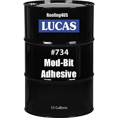 Mod-Bit Adhesive #734 - Brush - Full Range Adhesives