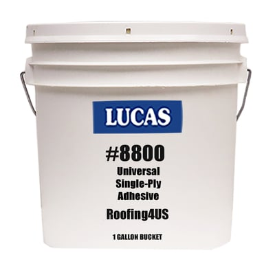 Image of Universal Bonding Single-Ply Adhesive #8800 - Water Based - Lucas