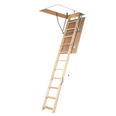 Fakro LWN -Non Insulated Wood Attic Ladder