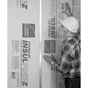 Owens Corning FOAMULAR InsulPink-Z (XPS) Insulation Board - All Sizes Owens Corning