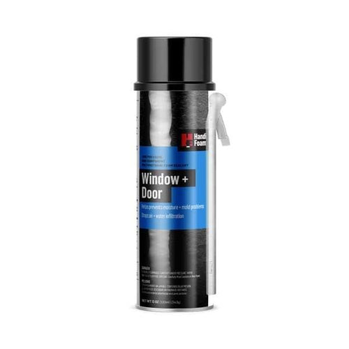 HandiFoam Window & Door Straw Foam Sealant 12 OZ (340G)(12 cans per case) Canister Foam